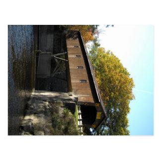 Creek Rd Bridge Ashtabula County Ohio Postcard