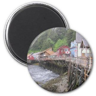 Creek Street Ketchikan, Alaska Fridge Magnets