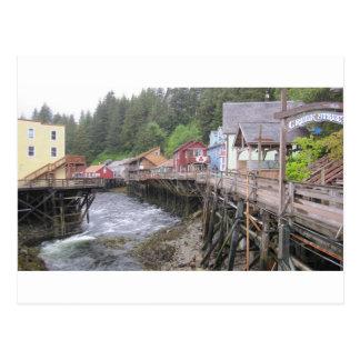 Creek Street Ketchikan, Alaska Postcard