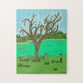 Creek with Tree Puzzle