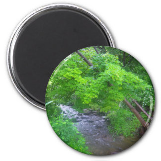 Creekside 2 Inch Round Magnet