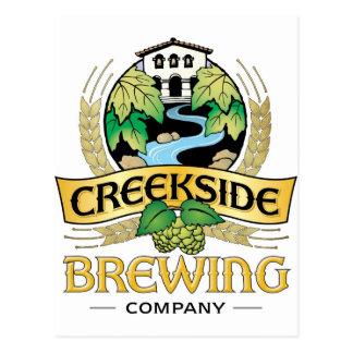Creekside Brewing Company Postcard