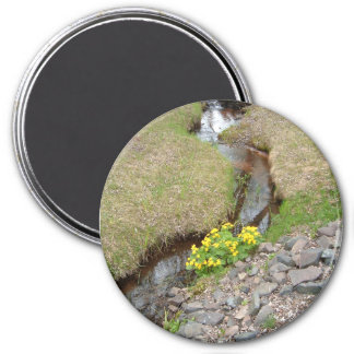 Creekside Dally 3 Inch Round Magnet