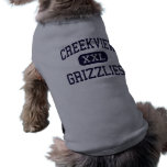 Creekview - Grizzlies - High - Canton Georgia Dog T-shirt