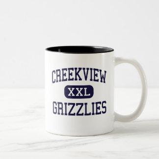 Creekview - Grizzlies - High - Canton Georgia Two-Tone Coffee Mug