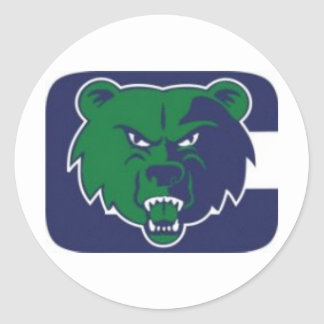 Creekview Grizzlies Youth Football Association Classic Round Sticker