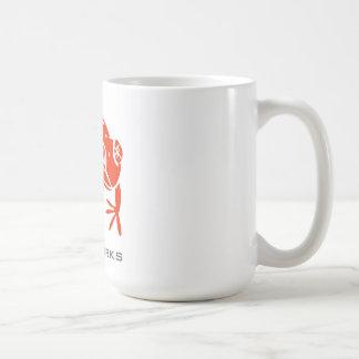 Creel Works Logo 1 copy Classic White Coffee Mug