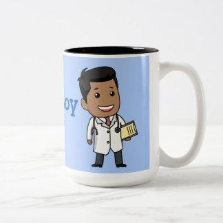 ¡Créeme, Soy Médico! Two-Tone Coffee Mug