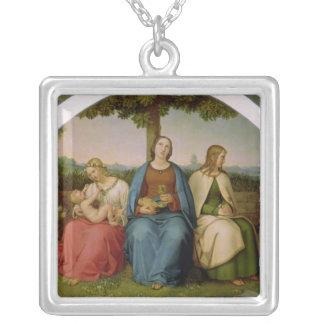 Creencia, esperanza y amor, 1819 colgante cuadrado