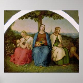 Creencia, esperanza y amor, 1819 poster