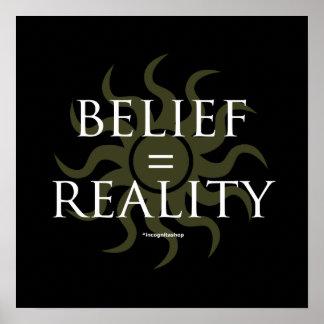 Creencia realidad impresiones