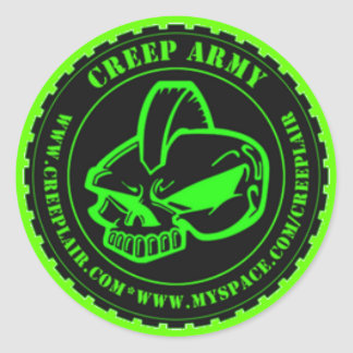 CREEP ARMY STICKERS