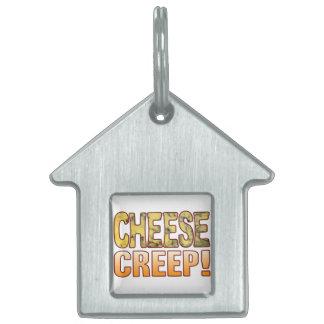 Creep Blue Cheese Pet ID Tag