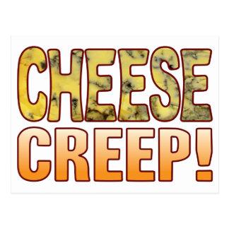 Creep Blue Cheese Postcard