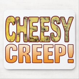 Creep Blue Cheesy Mouse Pad