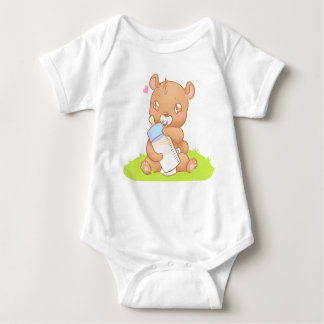 Creeper of the baby bibs Personalized - to bear