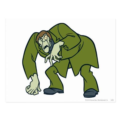 Creeper Villains Post Card