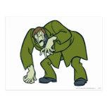 Creeper Villains Postcard