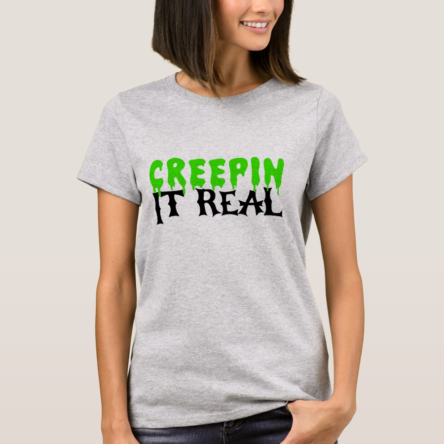 Creepin It Real Halloween T-Shirt - Best Selling Long-Sleeve Street Fashion Shirt Designs