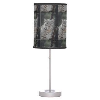 Creeping Bobcat Desk Lamp
