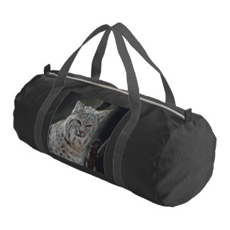 Creeping Bobcat Duffle Bag