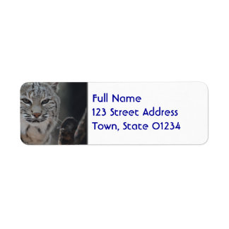 Creeping Bobcat Label