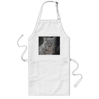 Creeping Bobcat Long Apron