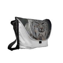 Creeping Bobcat Messenger Bag