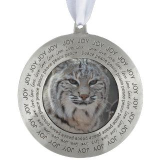 Creeping Bobcat Ornament