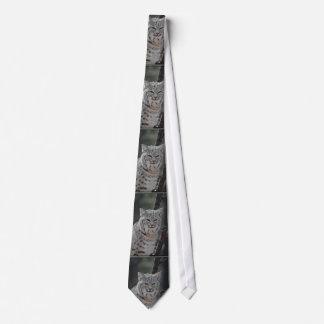 Creeping Bobcat Tie