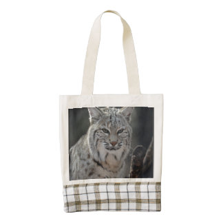 Creeping Bobcat Zazzle HEART Tote Bag