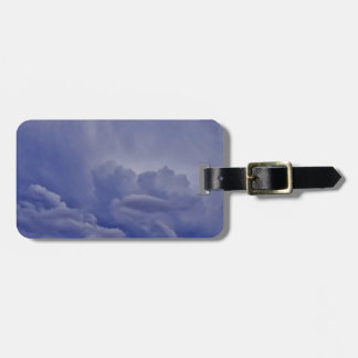 Creeping Clouds 1 Luggage Tag