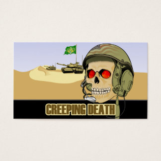 Creeping Death Business Card
