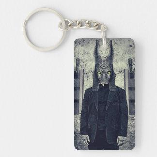 Creeping death Single-Sided rectangular acrylic keychain