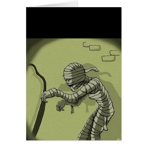 Creeping Mummy Cards