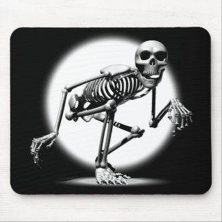 Creeping Skeleton Mouse Pad