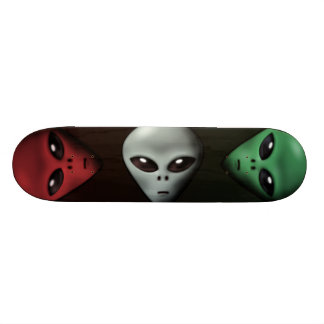 Creepy Alien Skateboard