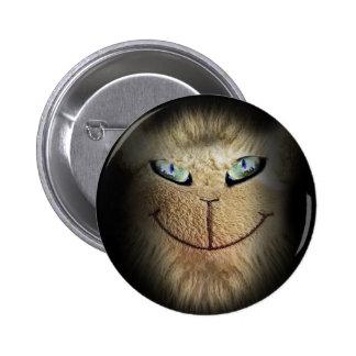 Creepy Animal Face Pinback Button
