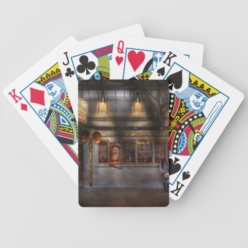 Creepy - Apocalyptic - Obedience and Compliance Bicycle Playing Cards