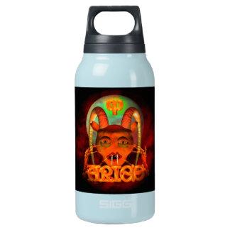 Creepy Aries zodiac horoscope by Valxart Insulated Water Bottle