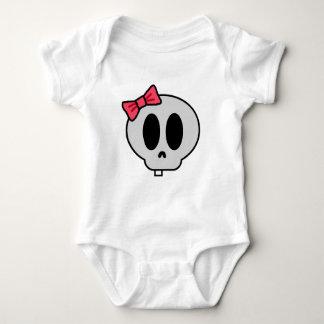 Creepy Baby Girl Baby Bodysuit