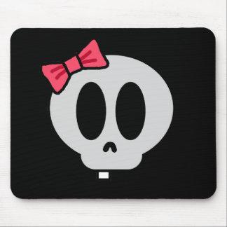 Creepy Baby Girl Mouse Pad
