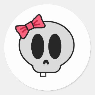 Creepy Baby Girl Stickers