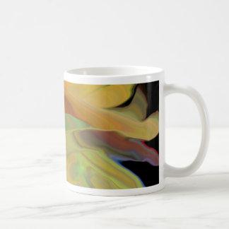 Creepy Blob Cicle Pattern Multi Colored Coffee Mug