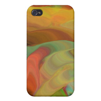 Creepy Blob Cicle Pattern Multi Colored Covers For iPhone 4