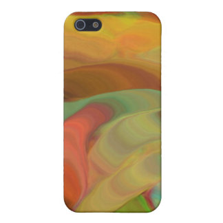 Creepy Blob Cicle Pattern Multi Colored iPhone 5/5S Cover