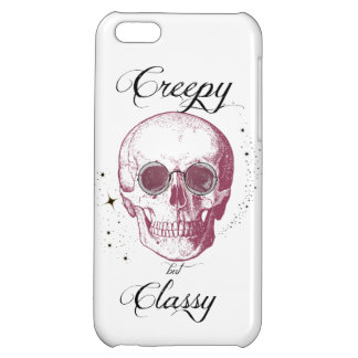 Creepy but Classy iPhone 5C Cases