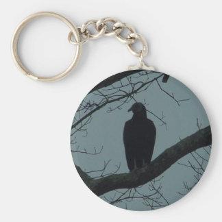 creepy buzzard key chains