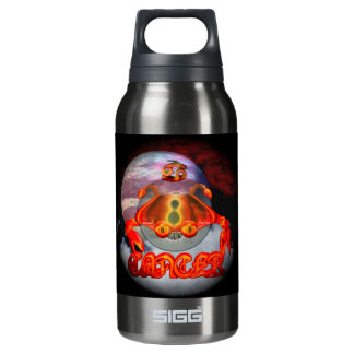 Creepy Cancer zodiac astrology by Valxart.com Insulated Water Bottle