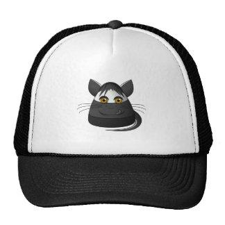 Creepy Candy Corn Cat Mesh Hats